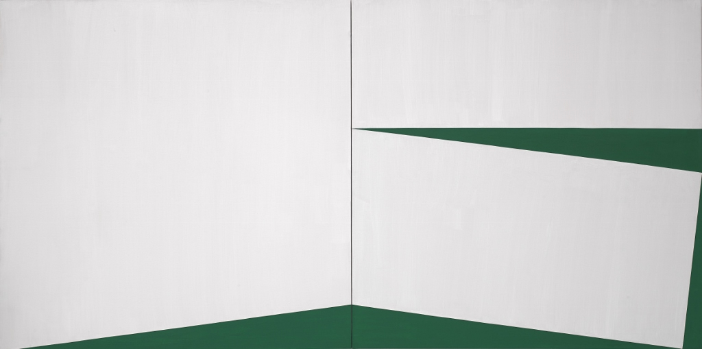 Our america abstraction and identity art and politics - Blanco y verde ...