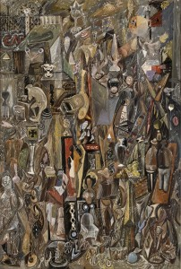 Tempera with graphite on composition board Seattle Art Museum, Gift of Gladys and Sam Rubinstein, 69.79© Mark Tobey / Seattle Art Museum Photo: Paul Macapia