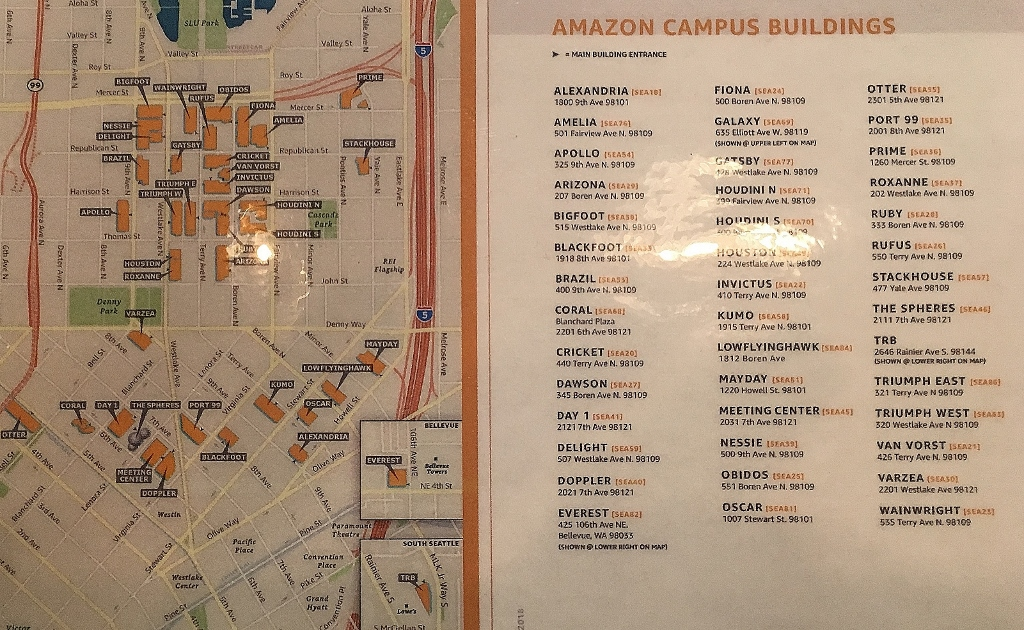 Amazon South Lake Union Campus Map.In The Belly Of The Beast Art And Politics Now Susan Noyes Platt